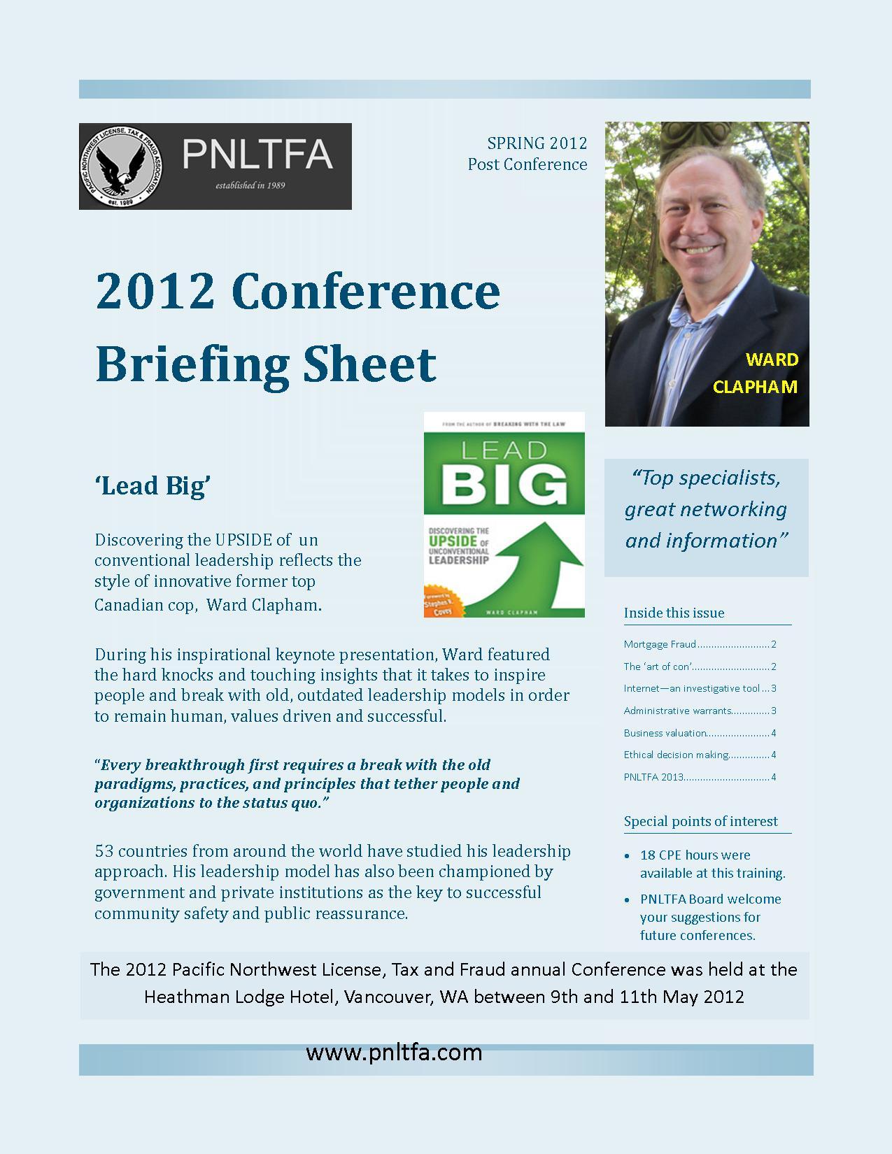 2012 pnltfa briefing sheet -4